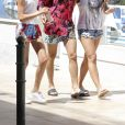 Justin Bieber en vacances avec deux amies à Saint-Jean-Cap-Ferrat le 29 juin 2017