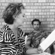 """Johanna (Rochelle Redfield) et Cri-Cri d'amour (Sébastien Roch) réunis aux Etats-Unis pour """"Les Mystères de l'amour"""", le 20 juillet 2017."""