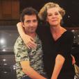 Sébastien Roch pose avec Rochelle Redfield sur Instagram, le 25 juillet 2017.