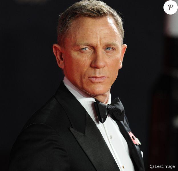 """Daniel Craig - Première mondiale de James Bond """"Spectre"""" au Royal Albert Hall à Londres le 26 octobre 2015."""