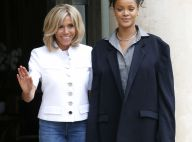 Rihanna à l'Elysée : Son look détonnant face à Brigitte Macron décontractée