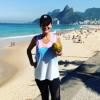 Cristine Cordula sans maquillage et sportive à Rio de Janeiro : Ses fans conquis