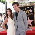 Jason Bateman avec sa femme Amanda Anka - Jason Bateman reçoit son étoile sur le Walk of Fame à Hollywood, le 26 juillet 2017