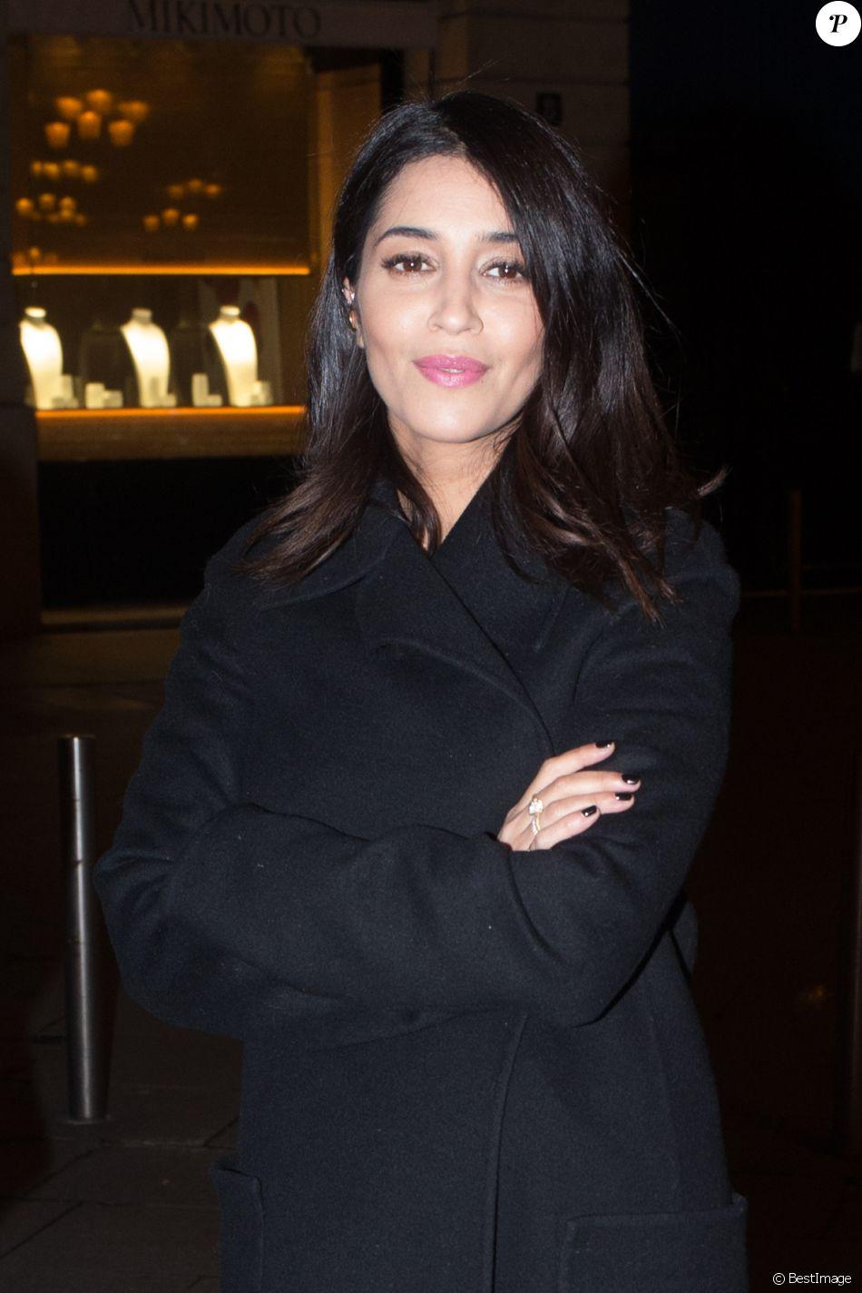 Leïla Bekhti - Arrivées à la soirée des Révélations César 2017 dans les Salons Chaumet à Paris le 16 janvier 2017.