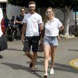 """""""Beatrice Borromeo était présente à Palma de Majorque le 2 août 2017 pour encourager son mari Pierre Casiraghi lors de son entrée en lice avec Malizia dans la 36e Copa del Rey MAPFRE, dans la catégorie GC32."""""""