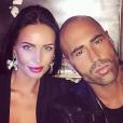 Sofiane (Star Academy 4) et sa petite amie Niki (Giuseppe Ristorante) en 2016.