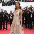 """Jourdan Dunn (bijoux de GRISOGONO) - Montée des marches du film """"Mise à Mort du Cerf Sacré"""" au 70e Festival de Cannes. Le 22 mai 2017. © Borde-Jacovides-Moreau/Bestimage"""