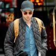 Robert Pattinson à la sortie de son hôtel à New York. Le 25 juillet 2017