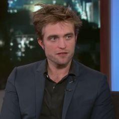 Robert Pattinson sur le plateau de l'émission Jimmy Kimmel Live! le 3 août 2017.