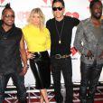 """Fergie et les Black Eyed Peas - Premier jour du festival """"i Heart Radio"""" au MGM Grand garden arena à Las Vegas le 23 septembre 2011."""