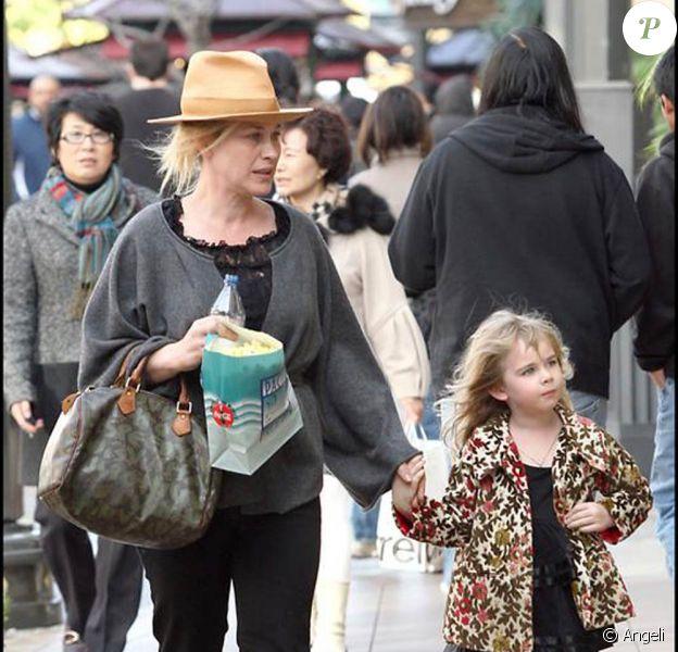 Patricia Arquette et sa fille Harlow Olivia