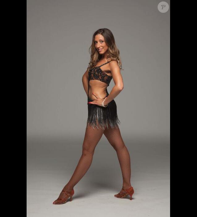 """Silvia Notargiacomo danseuse professionnelle de """"Danse avec les stars 7"""", photo officielle."""