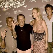 Johnny Hallyday et Laeticia déchaînés en boîte avec Alessandra Sublet