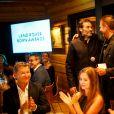"""Exclusif - Anthony Delon reçoit son prix - Cérémonie de remise de prix du """"Land Rover Born Awards"""" à Alesund en Norvège, le 27 juillet 2017. Anthony Delon de """"Anthony Delon 1985"""" a reçu le prix Re-Born."""