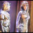 Lundi 9 février 2009 : Cléopâtre, la dernière reine d'Egypte donne sa générale devant un public qui compte de nombreux people.