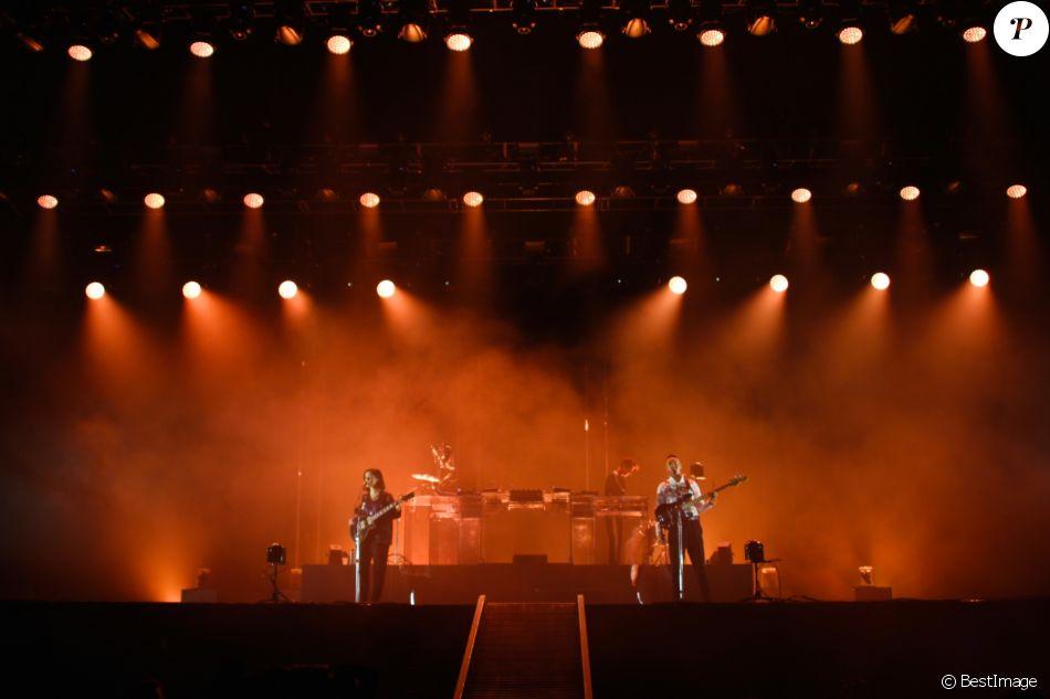 Jour 3 - The XX en concert au Festival Rock En Seine, au Domaine National de Saint-Cloud, France, le 27 août 2017. © Lise Tuillier/Bestimage