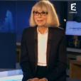 Mireille Darc très émue dans l'émission Un jour, Un destin, qui avait diffusé la première fois en janvier 2015.