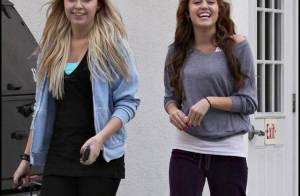 Miley Cyrus, alias miss sourire, est toujours la première à s'amuser !