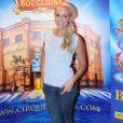 Exclusif - Elodie Gossuin au nouveau spectacle du cirque Bouglione, au cirque d'hiver à Paris, le 8 octobre 2016.© CVS/Bestimage