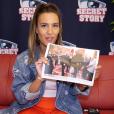 """Interview de Lydia, candidate de """"Secret Story 11"""", pour Purepeople.com. Le 8 septembre 2017."""