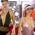 "Le premier ""Sexy ménage"" de ""Secret Story 11"". Le 12 septembre 2017."