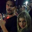 Josh Duhamel et Fergie sur une photo publiée sur Instagram le 19 juillet 2017