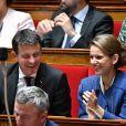 Manuel Valls lors d'une séance de questions au gouvernement à l'Assemblée Nationale à Paris, le 5 juillet 2017. © Lionel Urman/Bestimage