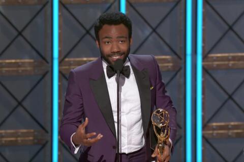 Emmy 2017 : Donald Glover, deux trophées, deux bébés...