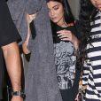 Exclusif - Kylie Jenner lors de sa soirée d'anniversaire pour ses 20 ans le 10 août 2017 à Los Angeles, où elle était accompagnée de son petit ami Travis Scott. Le jeune couple attend une petite fille, son premier enfant, pour 2018.