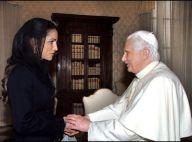 Rania de Jordanie, une très belle reine au grand coeur, au côté du pape