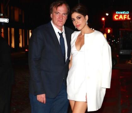 Quentin Tarantino et Daniella fêtent leurs fiançailles, Bruce Willis déchaîné !