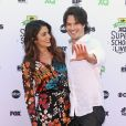 """Nikki Reed et son mari Ian Somerhalder lors de la soirée """"EIF Presents XQ Super School Live"""" à Los Angeles le 8 septembre 2017. © CPA / Bestimage"""
