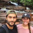 Jesta et Benoît ( Koh-Lanta, l'île au trésor ) en vacances en Asie.