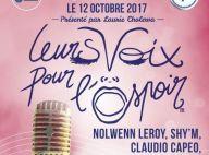 Laurie Cholewa mobilise à nouveau les stars pour Leurs voix pour l'espoir