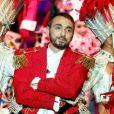 """Exclusif - Christophe Willem - Tournage de l'émission """"Tous au Moulin Rouge pour le Sidaction"""" au Moulin Rouge à Paris le 20 mars. L'émission sera diffusée sur France 2 le samedi 25 mars 2017 à 21h00. © Cyril Moreau - Dominique Jacovides / Bestimage"""