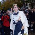 Marion Cotillard - Défilé de mode Valentino collection prêt-à-porter Printemps/Eté 2018 lors de la Fashion Week de Paris, le 1er octobre 2017.