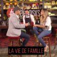 """Clara Morgane interviewée par Laurent Argelier dans l'émission """"L'interview sans filtre"""" pour le site du magazine """"Télé Loisirs"""""""