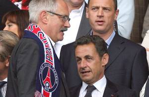 Pour la première fois depuis bien longtemps, Nicolas Sarkozy sera... au Parc des Princes dans quelques minutes !