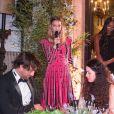 """Beatrice Borromeo lors de la soirée des """"Franca Sozzani Awards"""" au 74e Festival International du Film de Venise, le 1er septembre 2017."""