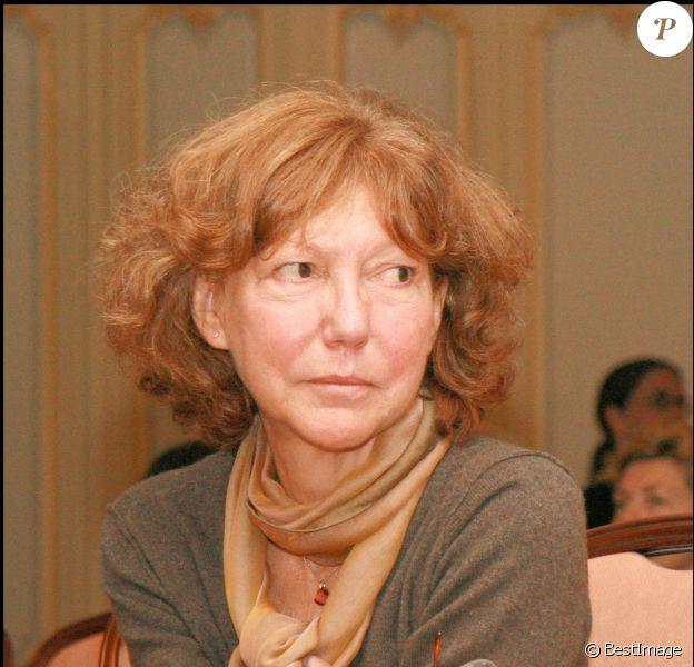 Exclusif - Anne Wiazemsky - Lecture du livre Jeune fille à Paris en 2007