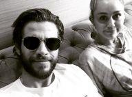 """Miley Cyrus, jalouse des co-stars de Liam Hemsworth ? """"J'ai mes petits espions"""""""