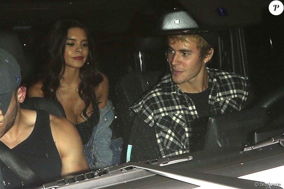 Justin Bieber se rend à l'église avec Paola Paulin à Beverly Hills, le 4 octobre 2017