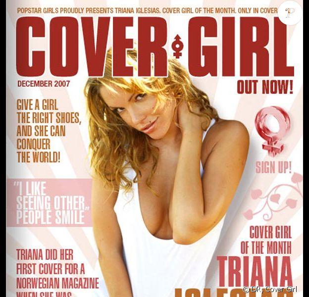 Triana Iglesias pour Cover Girl
