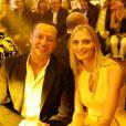 """Exclusif - Sarah Marshall lors de la 11ème édition du """"Casa Fashion Show - Collection Automne/Hiver 2017-2018"""" au Sofitel Casablanca Tour Blanche. © Philippe Doignon"""