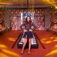 """Exclusif - Leila Ben Khalifa (marraine de l'évènement) défile lors de la 11ème édition du """"Casa Fashion Show - Collection Automne/Hiver 2017-2018"""" au Sofitel Casablanca Tour Blanche. © Philippe Doignon/Bestimage"""