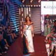 """Exclusif - Leila Ben Khalifa (marraine de l'évènement) défile lors de la 11ème édition du """"Casa Fashion Show - Collection Automne/Hiver 2017-2018"""" au Sofitel Casablanca Tour Blanche.© Philippe Doignon/Bestimage"""