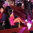 """Exclusif - Cris Cab sur scène lors de la 11ème édition du """"Casa Fashion Show - Collection Automne/Hiver 2017-2018"""" au Sofitel Casablanca Tour Blanche. Maroc, Casablanca, le 7 octobre 2017. © Philippe Doignon/Bestimage"""