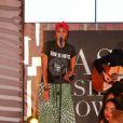 """Exclusif - Imany sur scène lors de la 11ème édition du """"Casa Fashion Show - Collection Automne/Hiver 2017-2018"""" au Sofitel Casablanca Tour Blanche.Maroc, Casablanca, le 7 octobre 2017. © Philippe Doignon/Bestimage"""