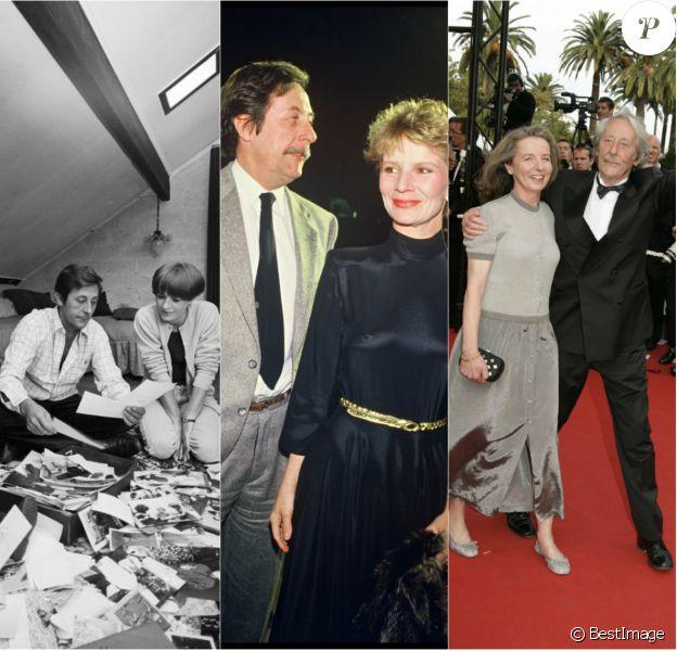 Jean Rochefort avec Alexandra Moscwa/Nicole Garcia/François Vidal (photo montage)