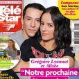 """Couverture du magazine """"Télé Star"""", avec Alizée et Grégoire Lyonnet, en kiosques le 9 octobre 2017."""